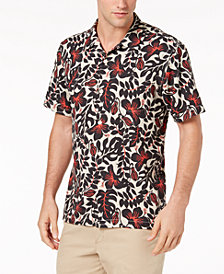 Tommy Bahama Men's Terra Fronds IslandZone Moisture-Wicking Floral-Print Camp Shirt