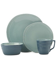 Mikasa Marbella Blue 4-Pc. Place Setting