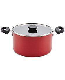 Farberware Neat Nest Space-Saving Non-Stick 6-Qt. Saucepot & Lid