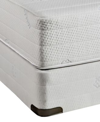 Eden Latex 11''  Cushion Firm Mattress Set- King, Created for Macy's