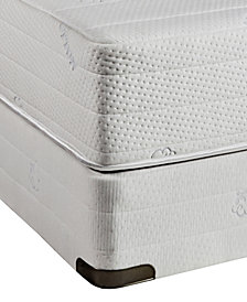 Nature's Spa by Paramount Eden Latex 11''  Cushion Firm Mattress Set- California King, Created for Macy's
