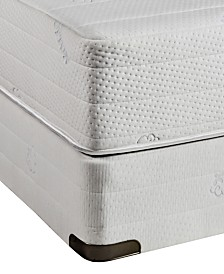 Nature's Spa by Paramount Eden Latex 11''  Cushion Firm Mattress Set- Full, Created for Macy's