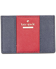 kate spade new york Racing Stripe Card Holder