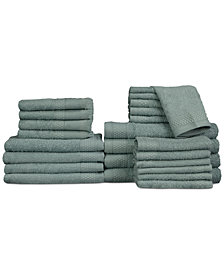 Baltic Linens Belvedere Row Cotton Dobby 24-Pc. Towel Set