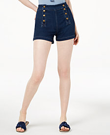 Maison Jules Sailor Shorts, Created for Macy's