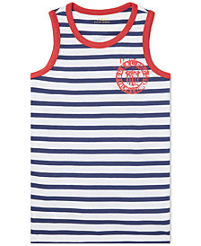 Polo Ralph Lauren Big Boys Cotton Jersey Graphic Tank Top