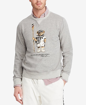 Men's Polo Bear Fleece Sweatshirt by Polo Ralph Lauren