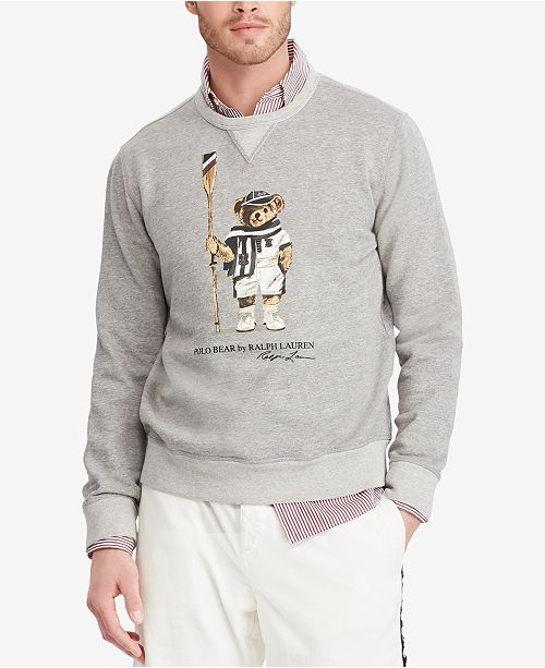 07edfb441 Polo Ralph Lauren Men s Polo Bear Fleece Sweatshirt   Reviews ...