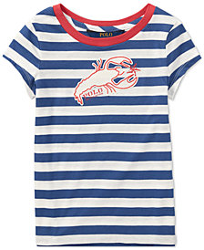 Polo Ralph Lauren Little Girls Cotton Jersey Graphic T-Shirt