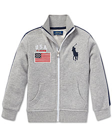 Polo Ralph Lauren Toddler Boys French Terry Cotton Jacket