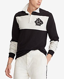 Polo Ralph Lauren Men's Iconic Cotton Rugby Shirt