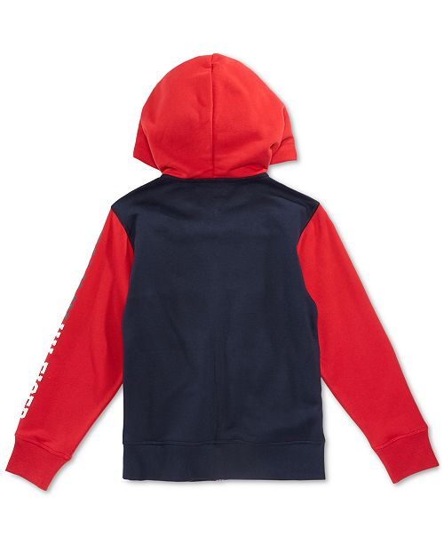 320b4260509c Tommy Hilfiger Little Boys Colorblocked Hoodie   Reviews - Sweaters ...