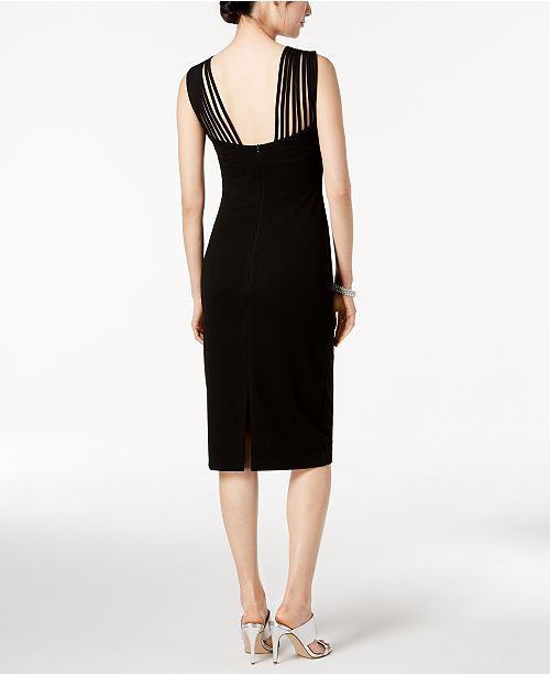 Sangria Strappy Sheath Dress Dresses Women Macys