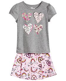 Epic Threads Toddler Girls T-shirt & Skirt, Created for Macy's