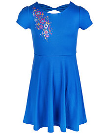 Epic Threads Big Girls Bow-Back Dress, Created for Macy's