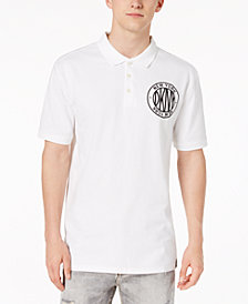 DKNY Men's Embroidered-Logo Polo, Created for Macy's