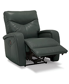 Erith Leather Power Recliner