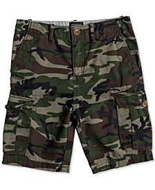 Quiksilver Big Boys Camo-Print Cotton Shorts