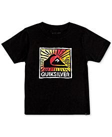 Quiksilver Little Boys Graphic-Print Cotton T-Shirt