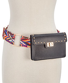 Steve Madden Studded Turn-Lock Belt Bag