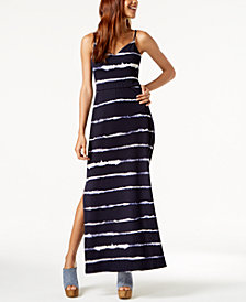 BCX Juniors' Tie-Dye Maxi Dress