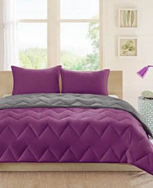 Intelligent Design Trixie Reversible 3-Pc. King/California King Comforter Set