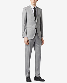 BOSS Men's Slim-Fit Natural Stretch Virgin Wool Suit