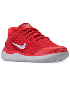 Nike Boys' Free RN 2018 Running Sneakers from Finish Line