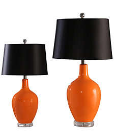 Abbyson Living Set of 2 Sabah Table Lamps