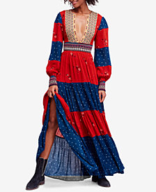 Free People Starlight Printed Maxi Dress