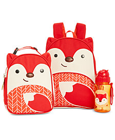 Skip Hop Fox Backpack, Lunch Bag & Water Bottle Separates