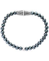 Effy Men S Hemae Bead Bracelet In Sterling Silver