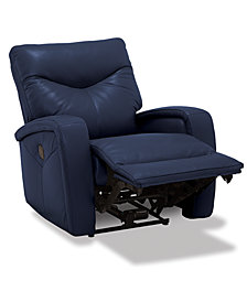 Erith Leather Lay Flat Power Recliner