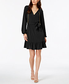 MICHAEL Michael Kors Chain-Neck Dress