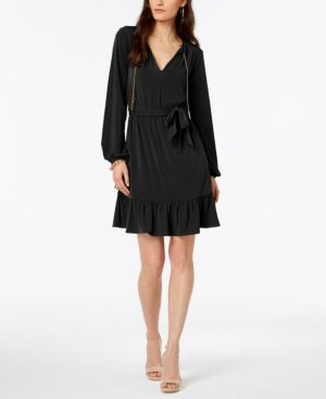 Michael Michael Kors Chain-Neck Dress 6525995