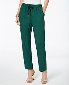 MICHAEL Michael Kors Printed Soft Pants