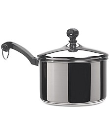 Classic Series Stainless Steel 2-Qt. Saucepan & Lid