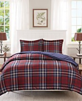 Red Bed In A Bag And Comforter Sets Queen King More Macy S