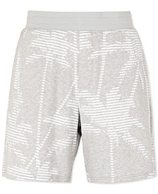 "A|X Armani Exchange Men's Palm Tree Fleece 9"" Inseam Shorts"