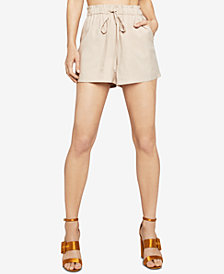 BCBGeneration Drawstring Paperbag Shorts