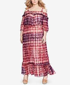 Jessica Simpson Trendy Plus Size Dahlia Maxi Dress
