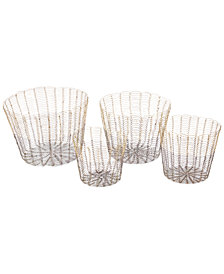 Madison Park 4-Pc. Buono Basket Set