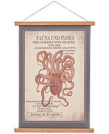 Madison Park Octopus Red Octopus Wall Art