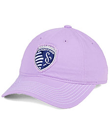 adidas Sporting Kansas City Pink Slouch Cap