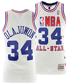 Mitchell & Ness Men's Hakeem Olajuwon NBA All Star 1989 Swingman Jersey