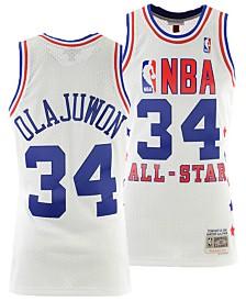 Mitchell & Ness Men's Hakeem Olajuwon NBA All Star 1989 Swingman Jersey