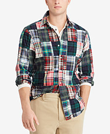 Polo Ralph Lauren Men's Classic Fit Cotton Madras Shirt
