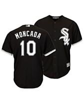 46e5ab7b2b6 Majestic Men s Yoan Moncada Chicago White Sox Player Replica Cool Base  Jersey