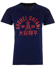 Majestic Men's Shohei Ohtani Los Angeles Angels Ohtani Heritage T-Shirt