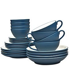 Colorwave 24-Pc. Dinnerware Set, Service for 4, Created for Macy's